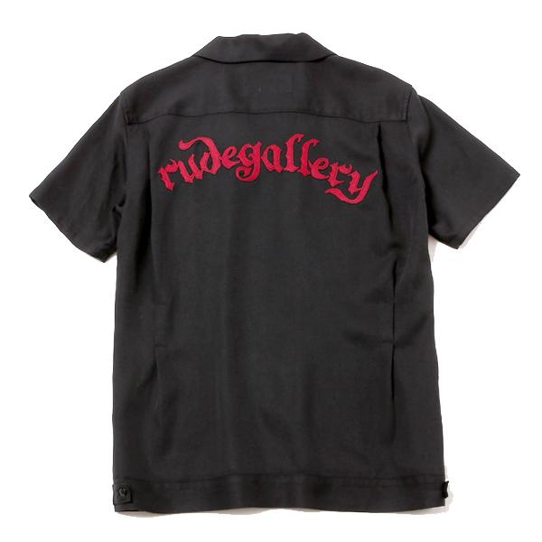 RUDE GALLERY (ルードギャラリー)|フレームスボーリングシャツ