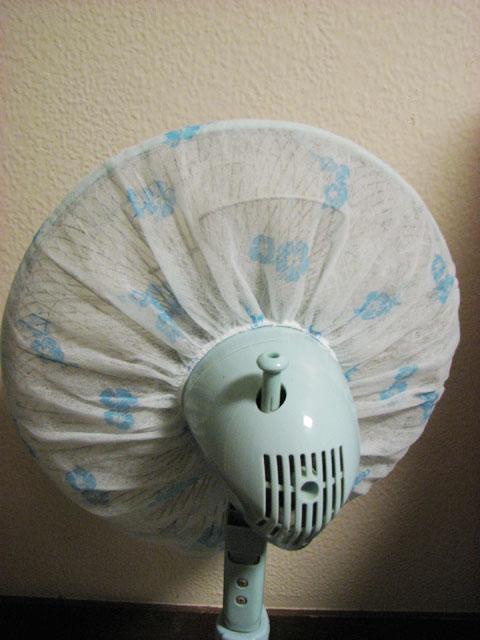 空気洗浄機より扇風機フィルター