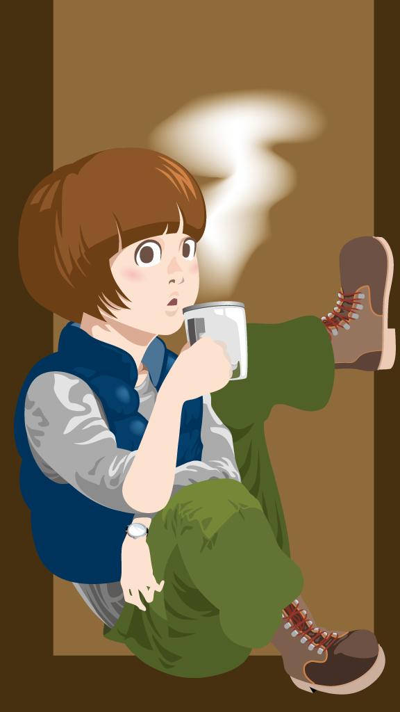 Keep Calm and taste Coffee. (color)