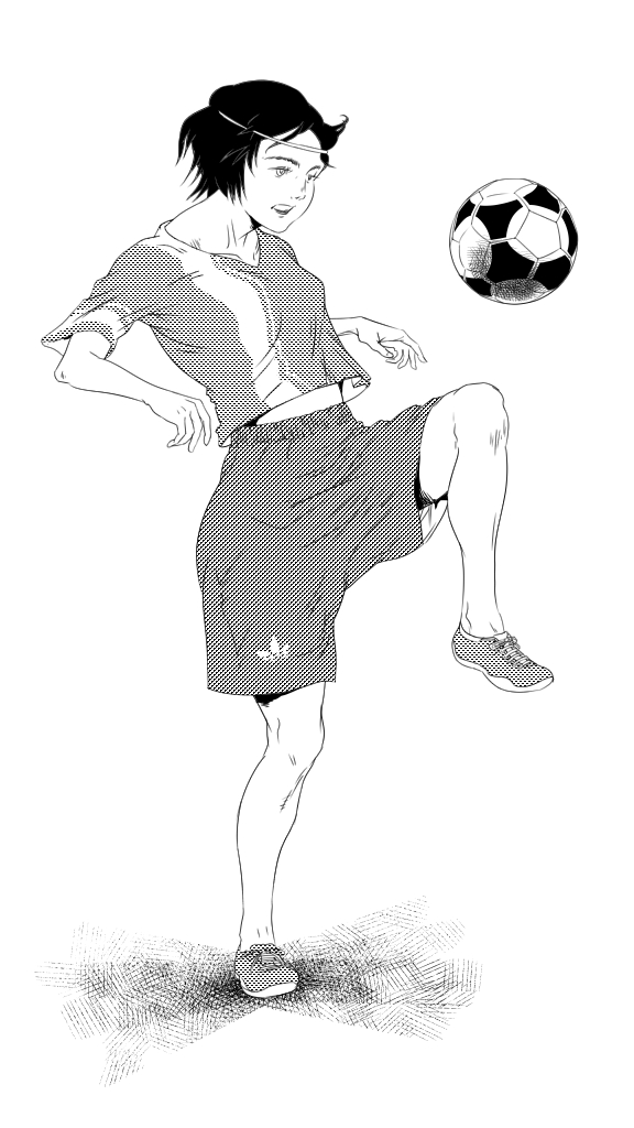 Juggle (ink)