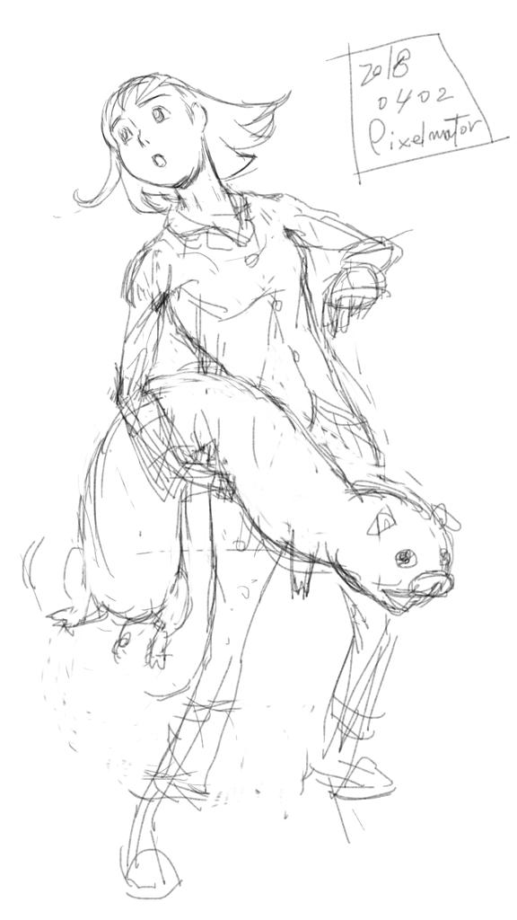 Pigggggy (rough)