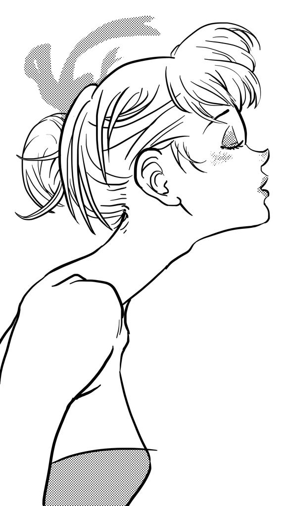 Summer Breeze (ink)