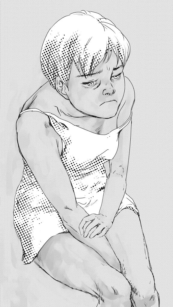 Tristesse (ink)