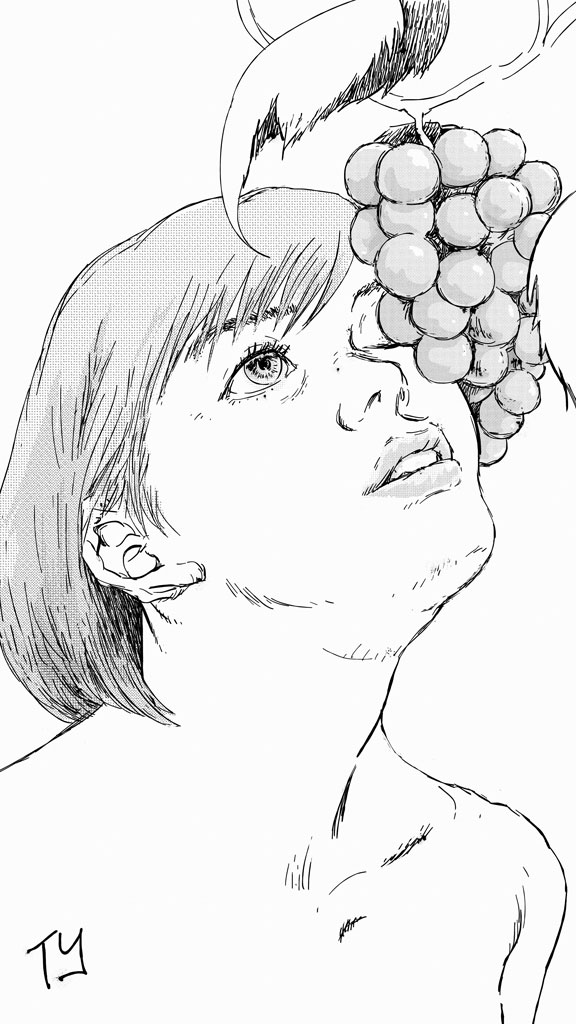 The Grapes of Flirt (ink)