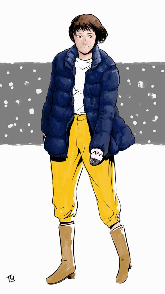 めかりうつ初冬 (color)