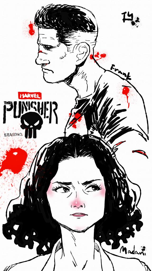 『Marvel パニッシャー』シーズン2を観た