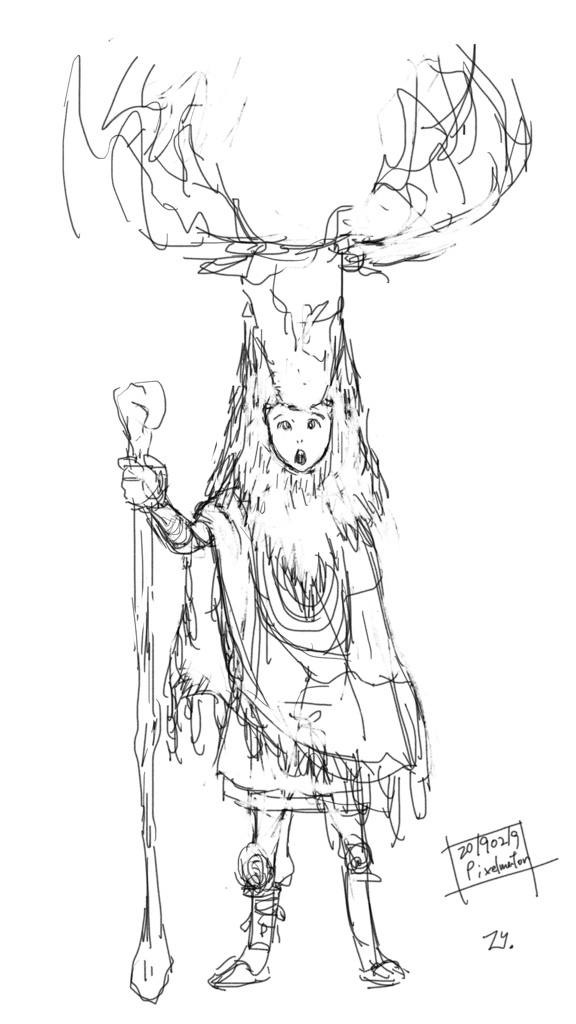 Moose King (rough)