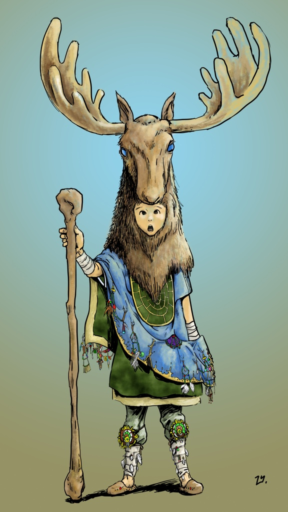 Moose King (color)