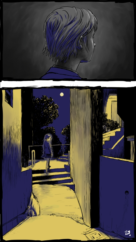 裏路地月夜 (color)