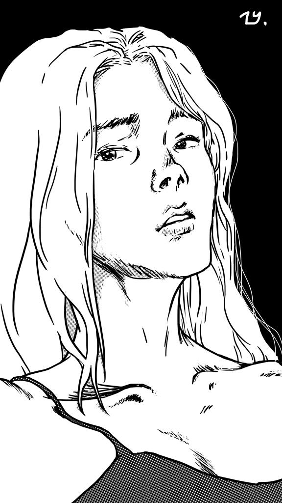 Mireille (ink)