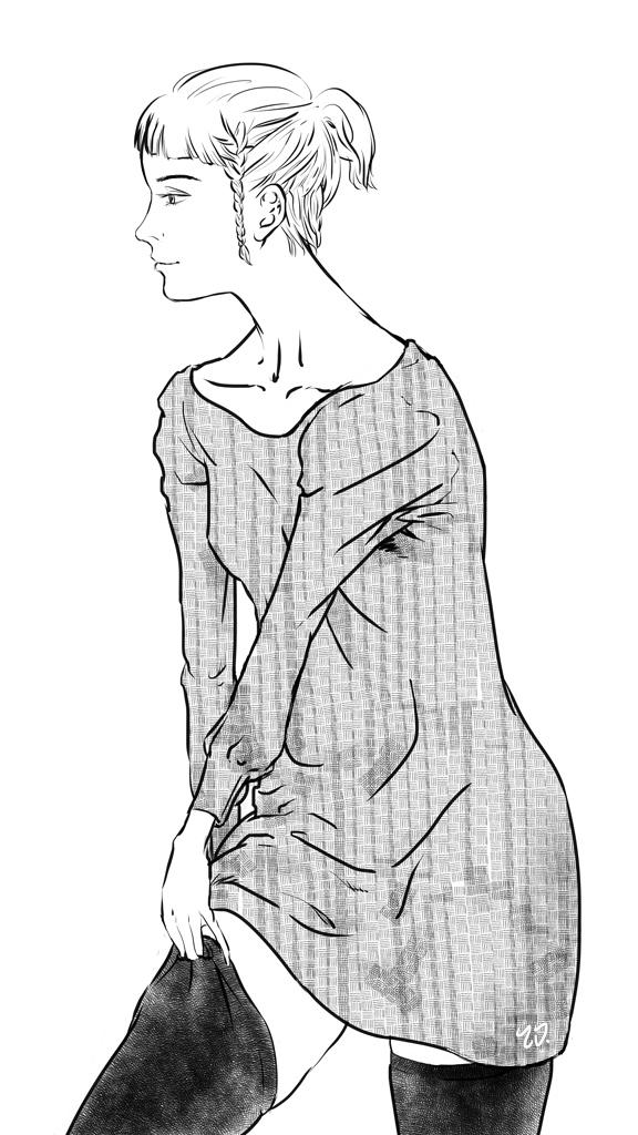 Thigh High (ink)