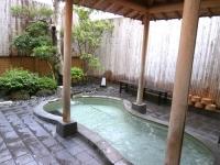 マルキ本館の露天風呂