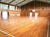 一戦場公園の体育館