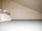 モンブラン白馬アネックスの客室例。はしごを上るとロフトです