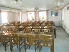 あけぼの山荘の食堂