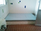 あけぼの山荘の浴室