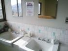 シャトレキングの洗面所