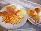 セジュールミント これがとろふわのオムレツ朝食