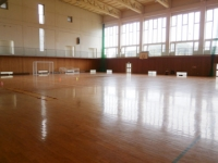 アルビンスポーツパークの体育館