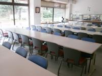 昭和の森フォレストビレッジの食堂