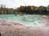 昭和の森フォレストビレッジのテニスコート