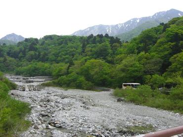 大山寺橋からの風景