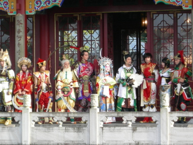 中国コスプレイヤーエキシビジョン