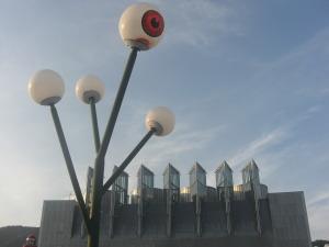 目玉の街灯