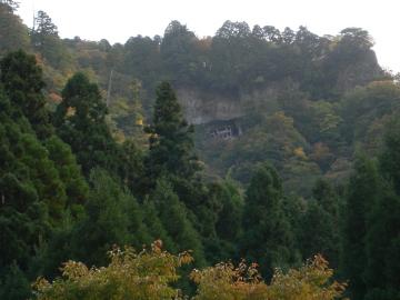 三徳山投入堂紅葉