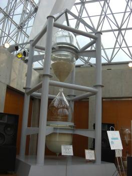 実物大の一年計砂時計
