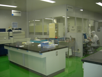 生乳検査室