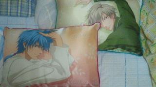 白石枕と仁王枕