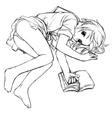 寝転ぶ 長門