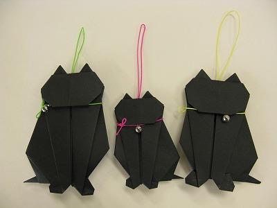 ハート 折り紙 折り紙猫の作り方 : blog.masutake.com