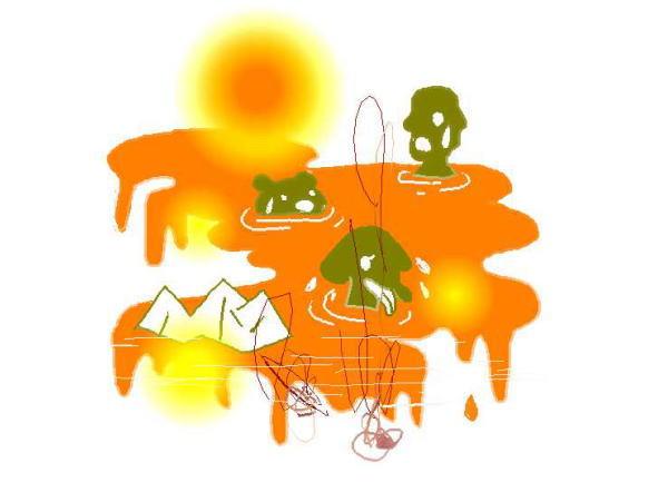 newsart 国連報告、2007年は世界各地で異常気象・北京五輪 最大の敵は大気汚染