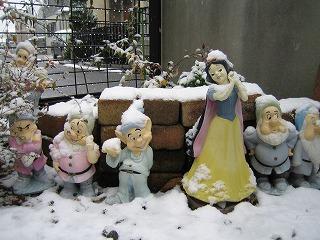 白雪姫と7人のこびと