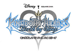 『KINGDOM HEARTS Birth by Sleep』のロゴ。