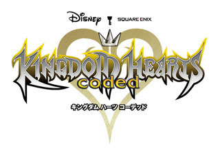 『KINGDOM HEARTS coded』のロゴ。