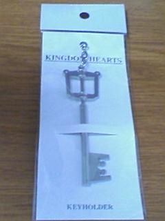 『KINGDOM HEARTS キーブレード キーホルダー』……アニ○イトで買いましたよw