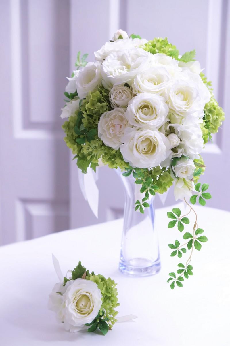 名古屋市の造花のウェディングブーケレッスン
