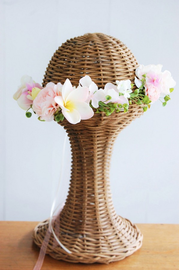 名古屋市の花冠レッスン