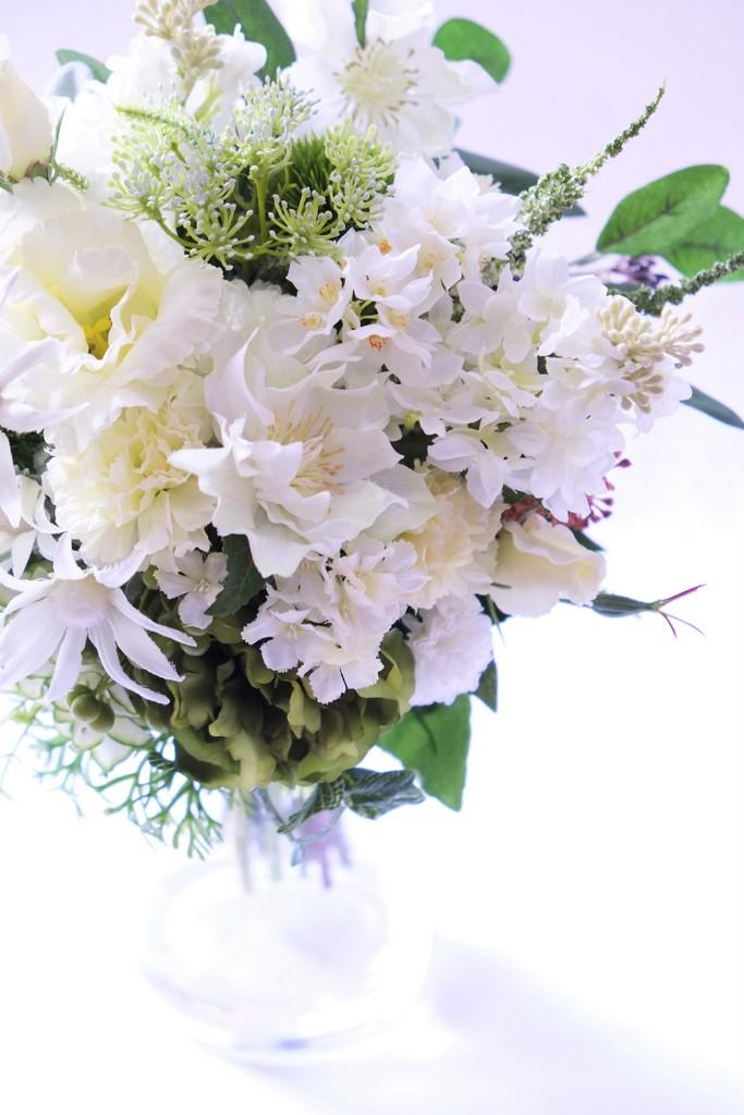 名古屋の造花のウェディングブーケ