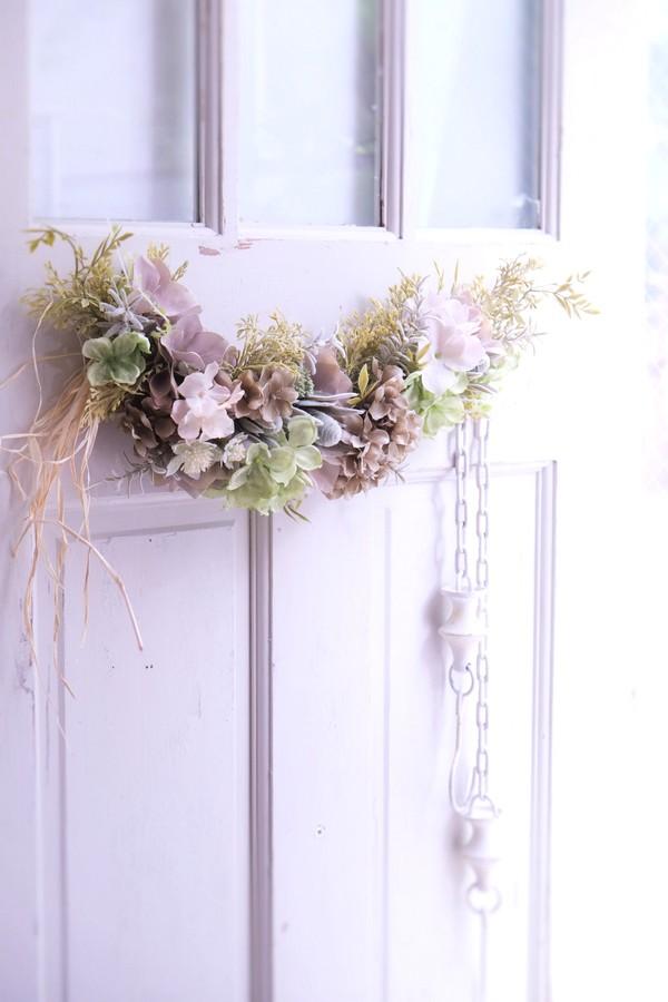 造花のスワッグ