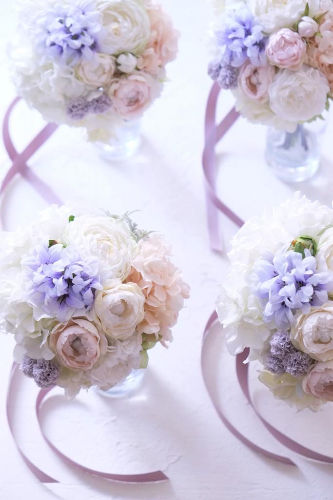 名古屋市ブーケトス用造花のブーケ