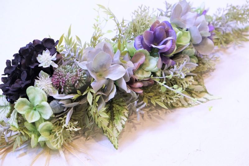 造花のガーランド