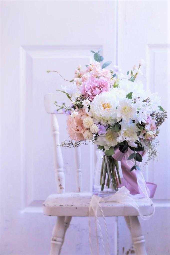 造花のナチュラルブーケ