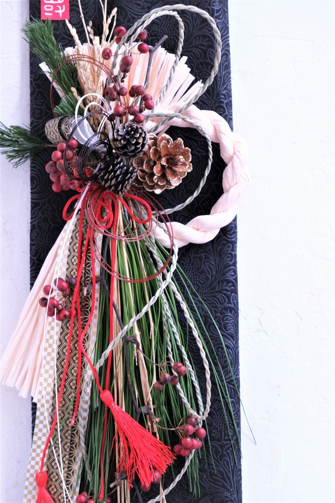 名古屋でお正月しめ縄作り体験レッスン