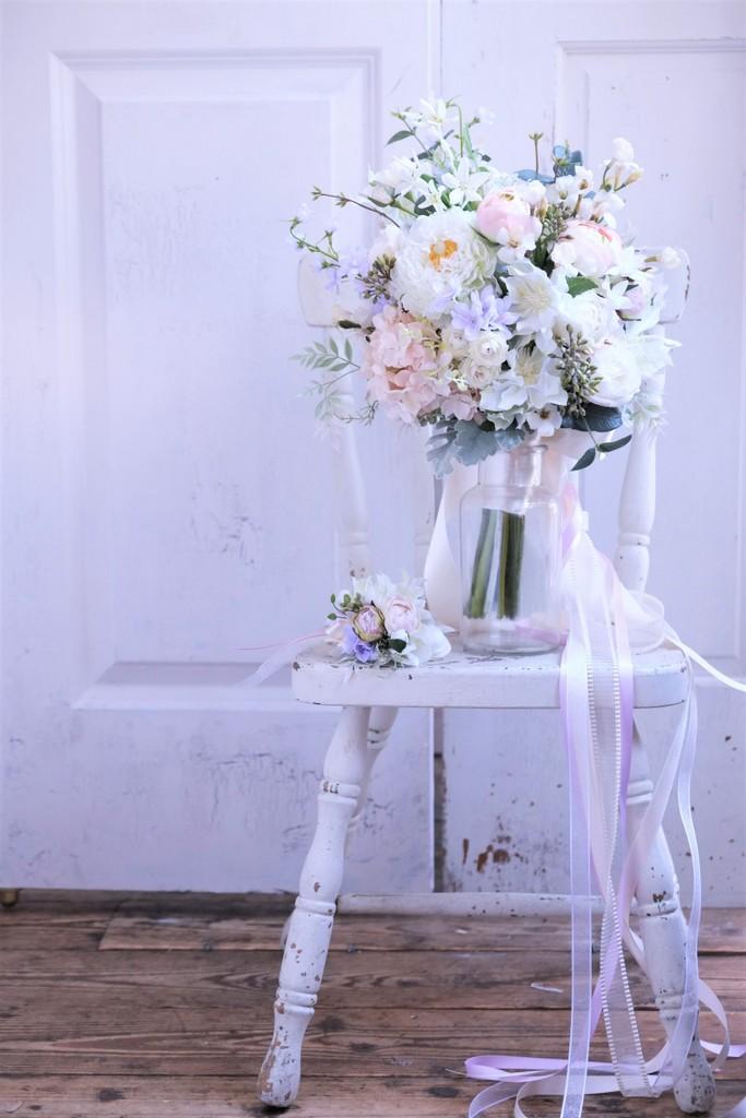 造花のウェディングブーケ