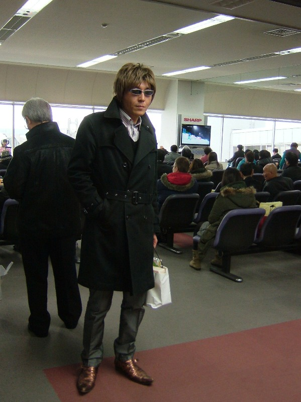 5 羽田空港で乗り換え