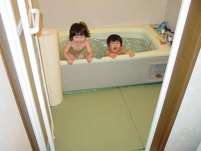 お風呂が楽しくなる畳 丸洗い可能たたみ その2